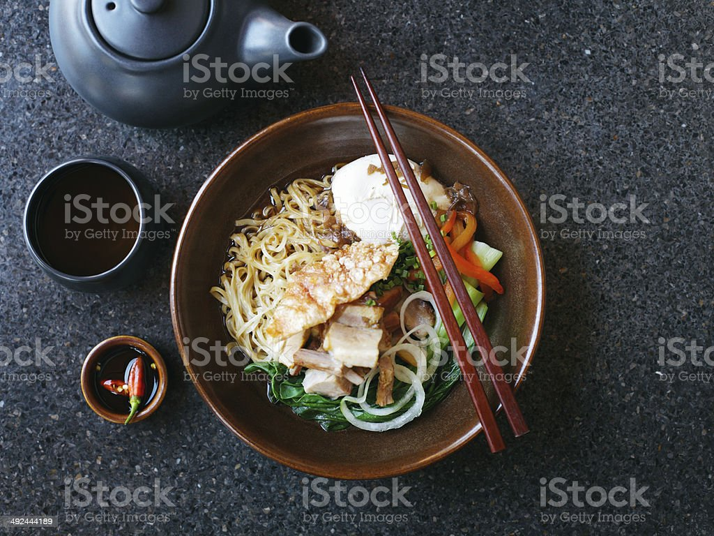 Asian noodles royalty-free stock photo