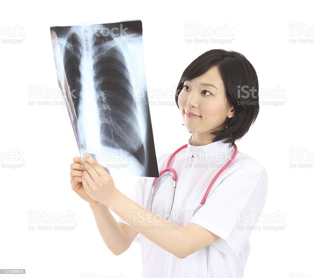 Asian nurse royalty-free stock photo