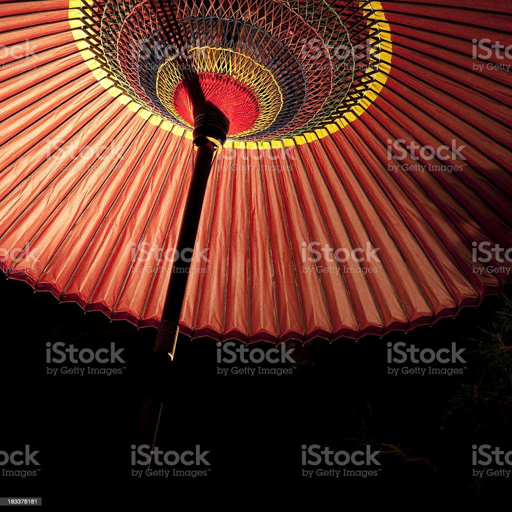 asian parasol stock photo
