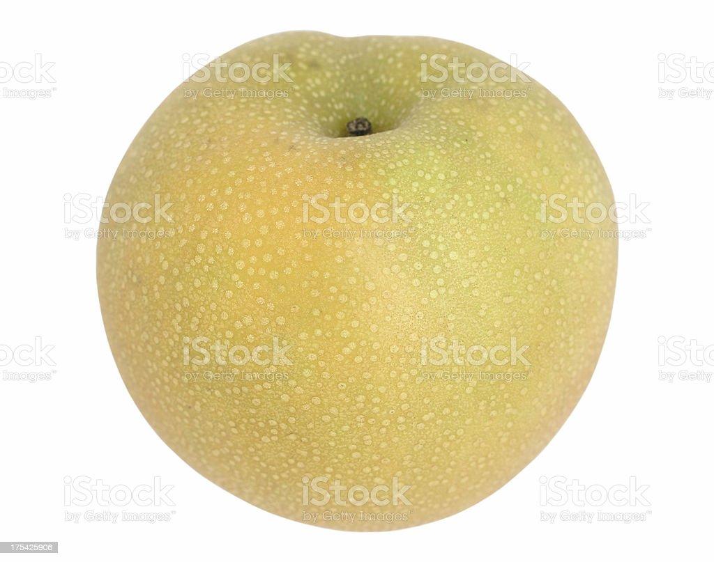 asian pear stock photo