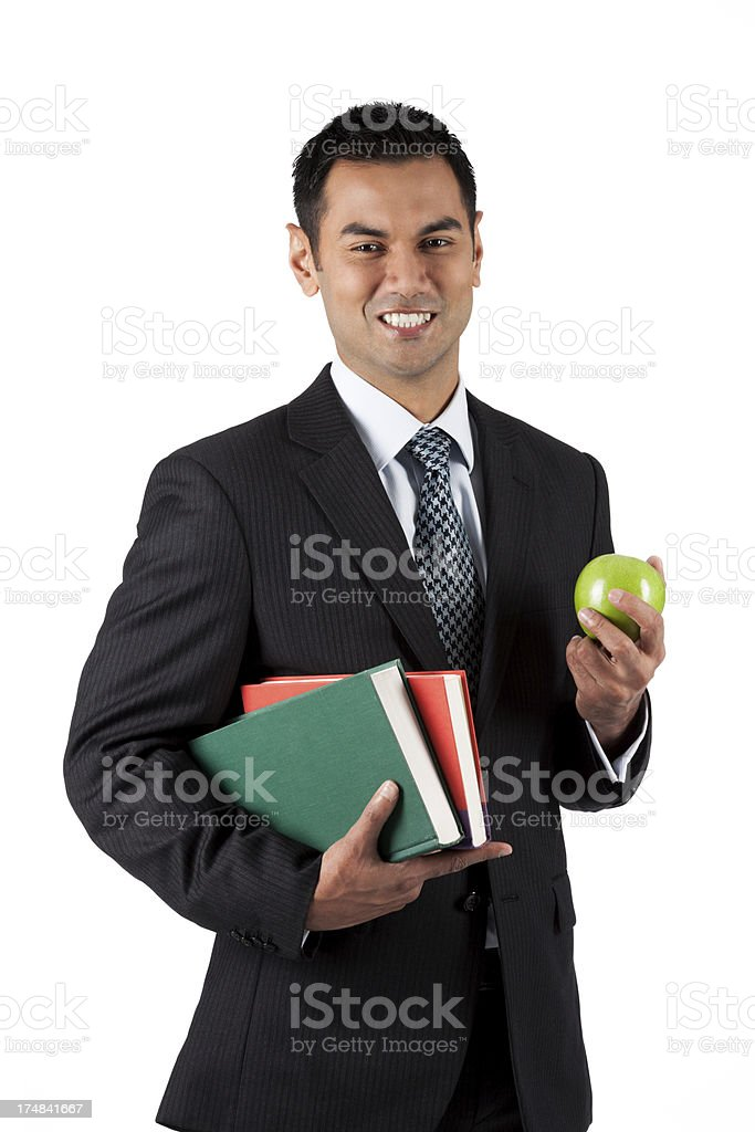 Asian Professor stock photo