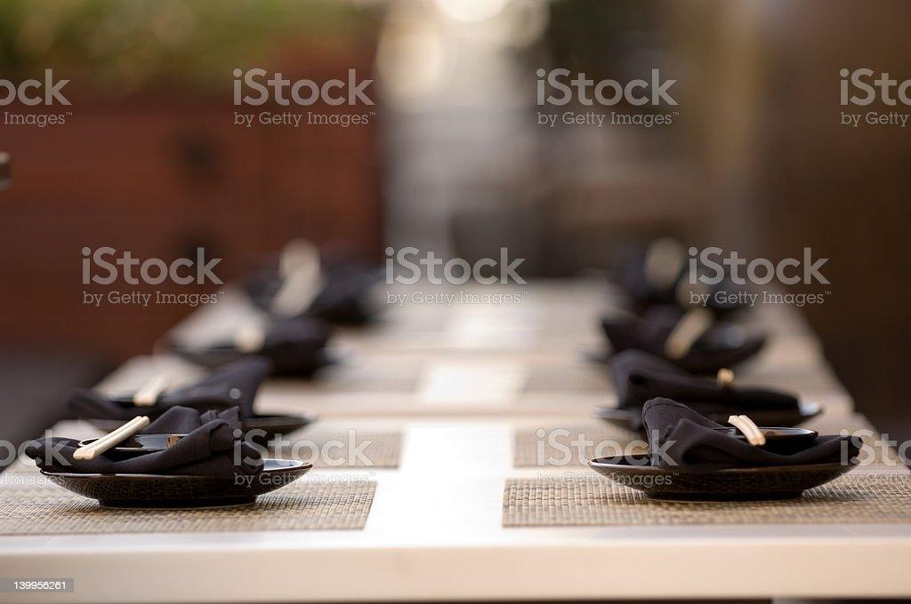 Asian restaurant stock photo