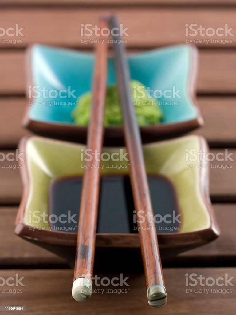 Asian sauces royalty-free stock photo