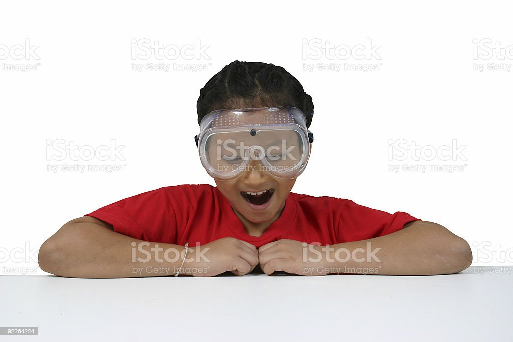 asian science student 5 royalty-free stock photo