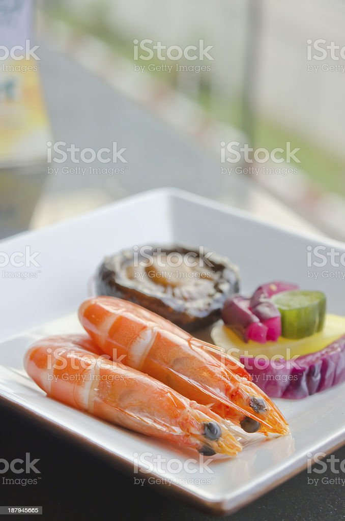 asian seafood royalty-free stock photo