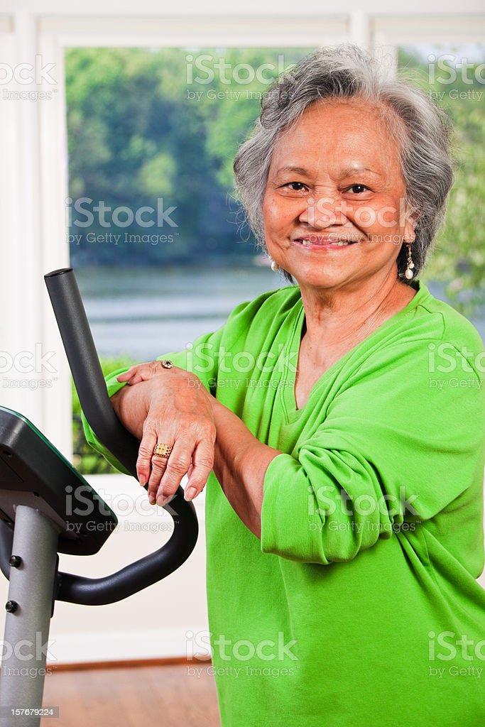 Asian Senior royalty-free stock photo