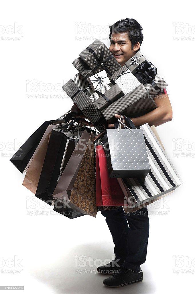 Asian Shopping Lifestyle royalty-free stock photo