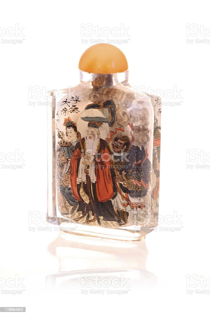 Asian Snuff Bottle royalty-free stock photo