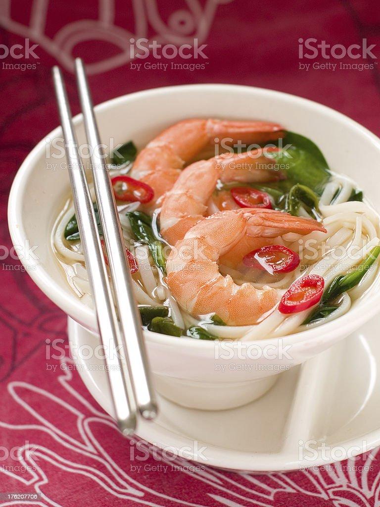 Asian soup royalty-free stock photo
