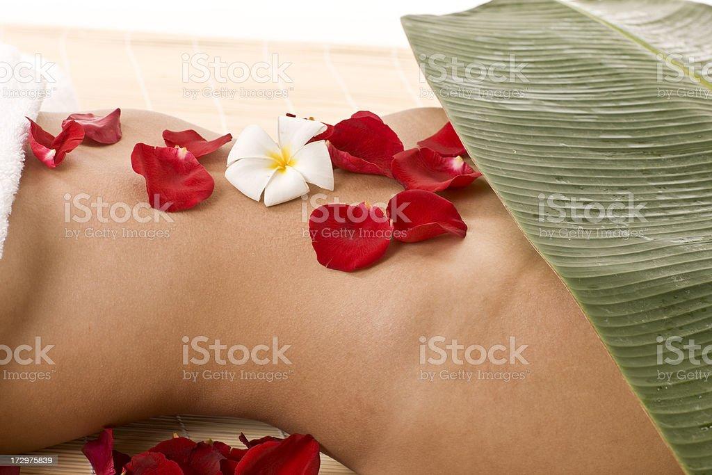 Asian spa royalty-free stock photo