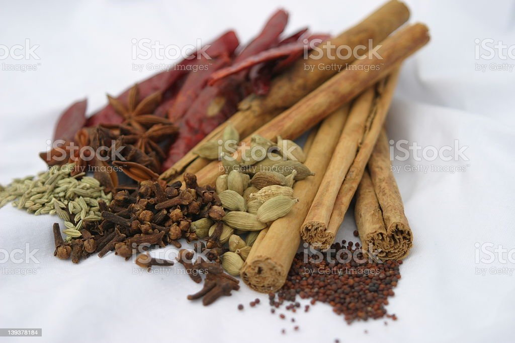 Asian Spices royalty-free stock photo