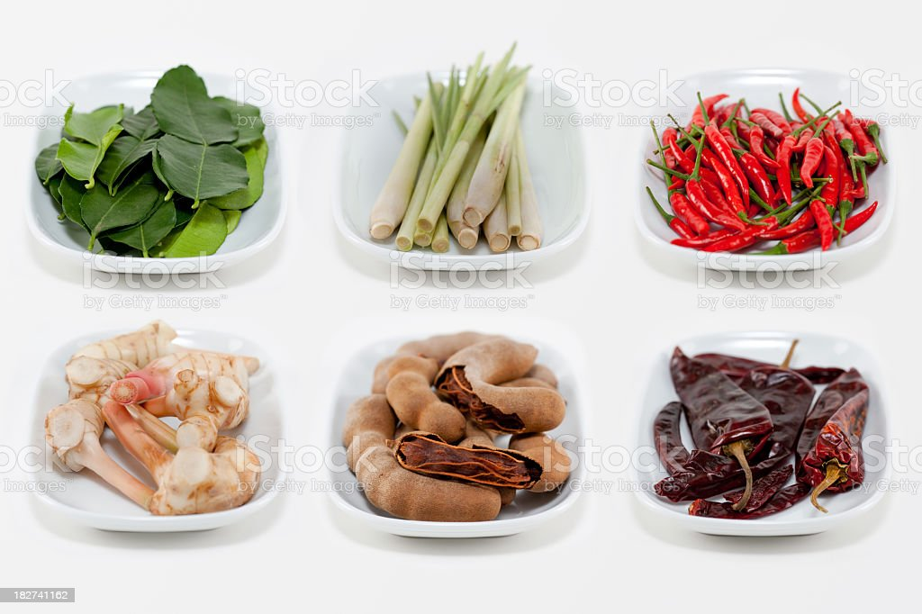 Asian Spices stock photo