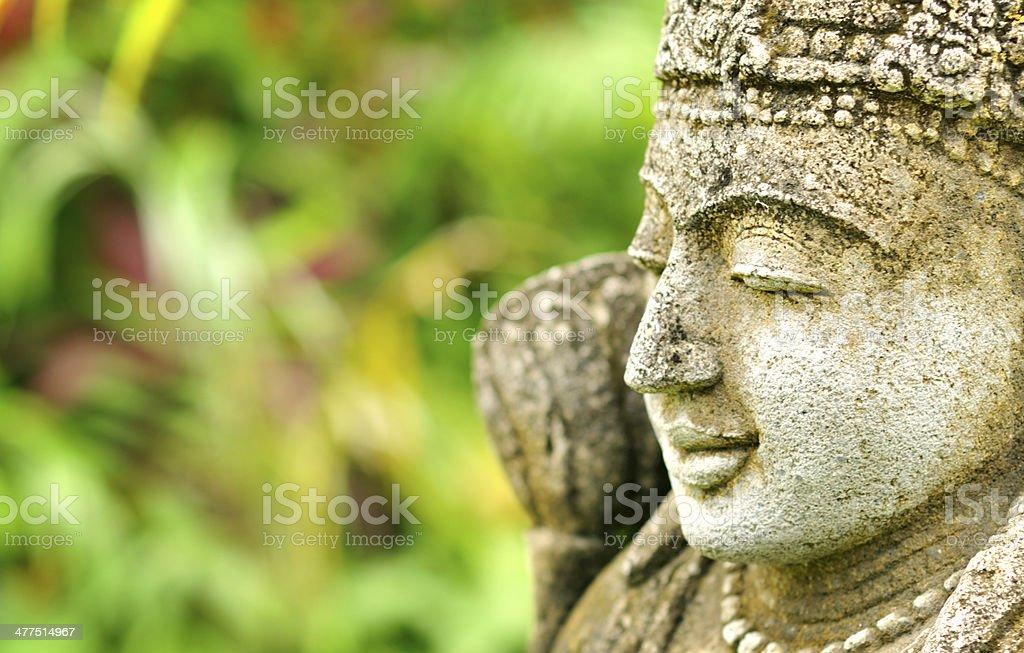 Asian statue stock photo