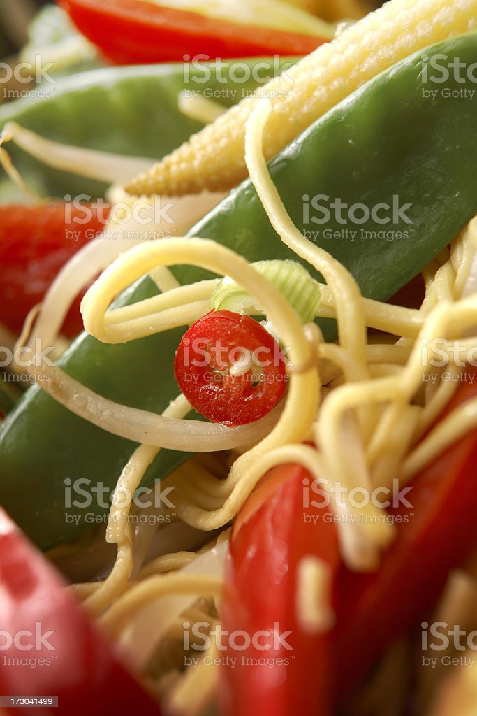 Asian Stills: Noodles royalty-free stock photo