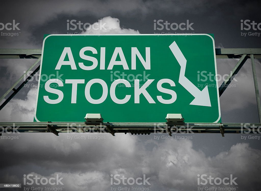 Asian Stocks stock photo