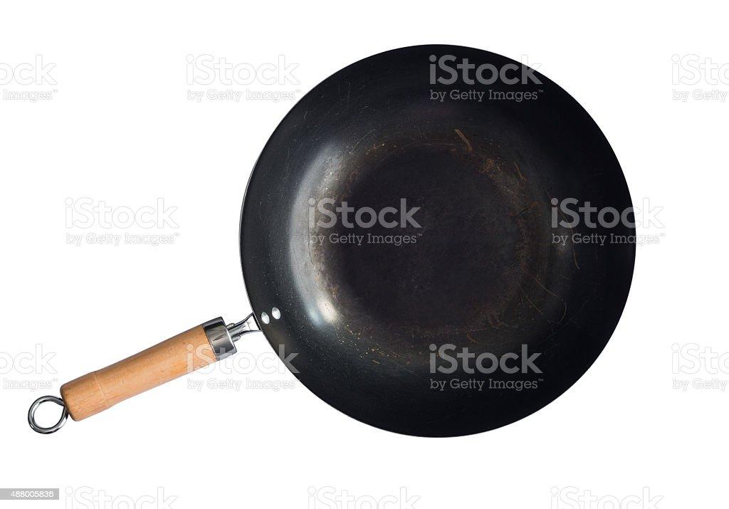 asian style wok stock photo