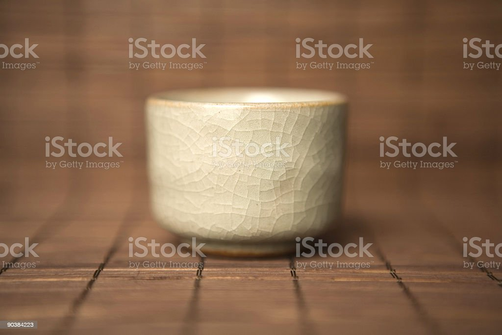 asian tea cup royalty-free stock photo
