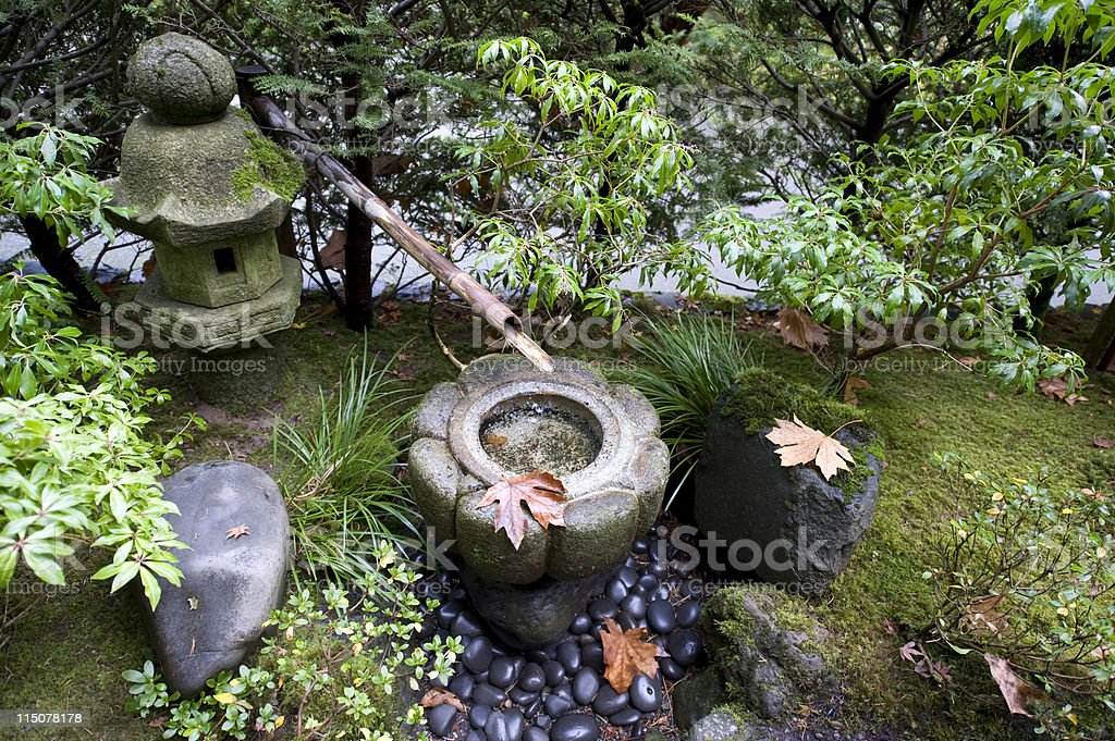 Asian Tranquility stock photo