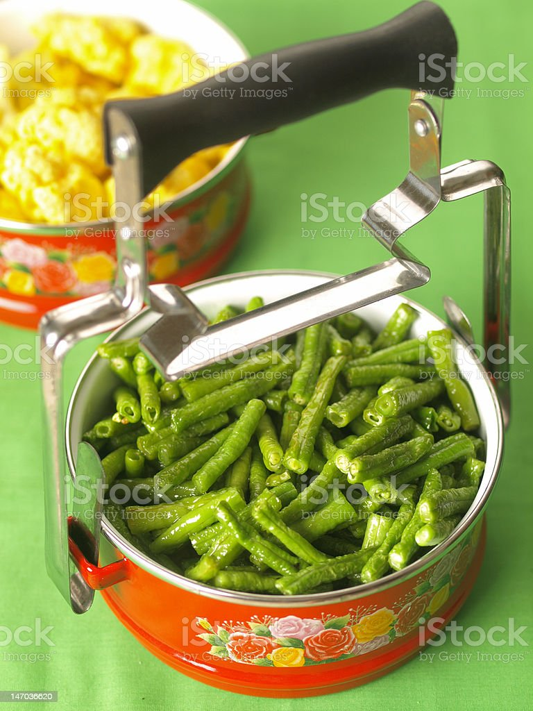 asian vegetarian lunch royalty-free stock photo