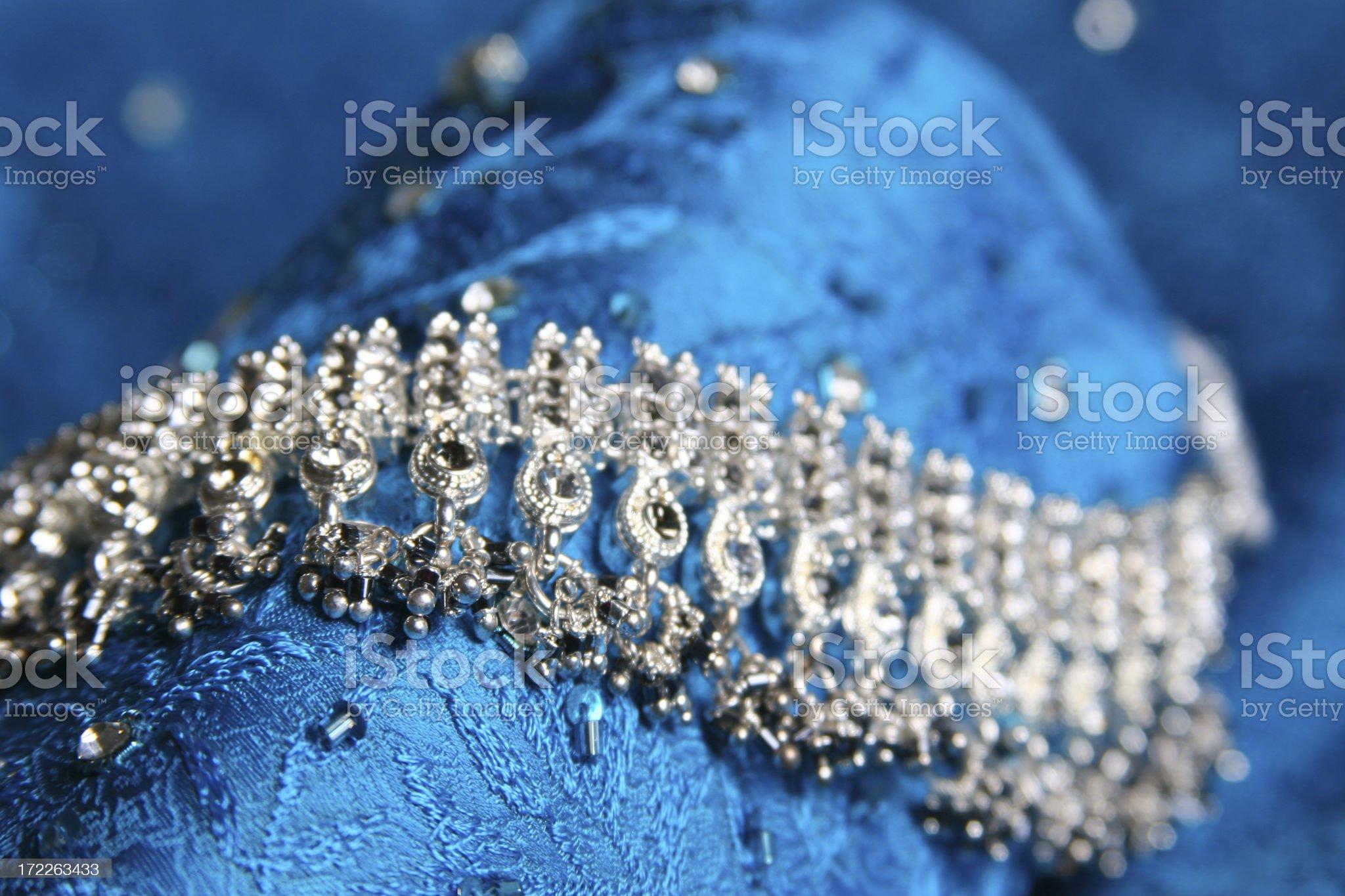 Asian Wedding Jewels royalty-free stock photo