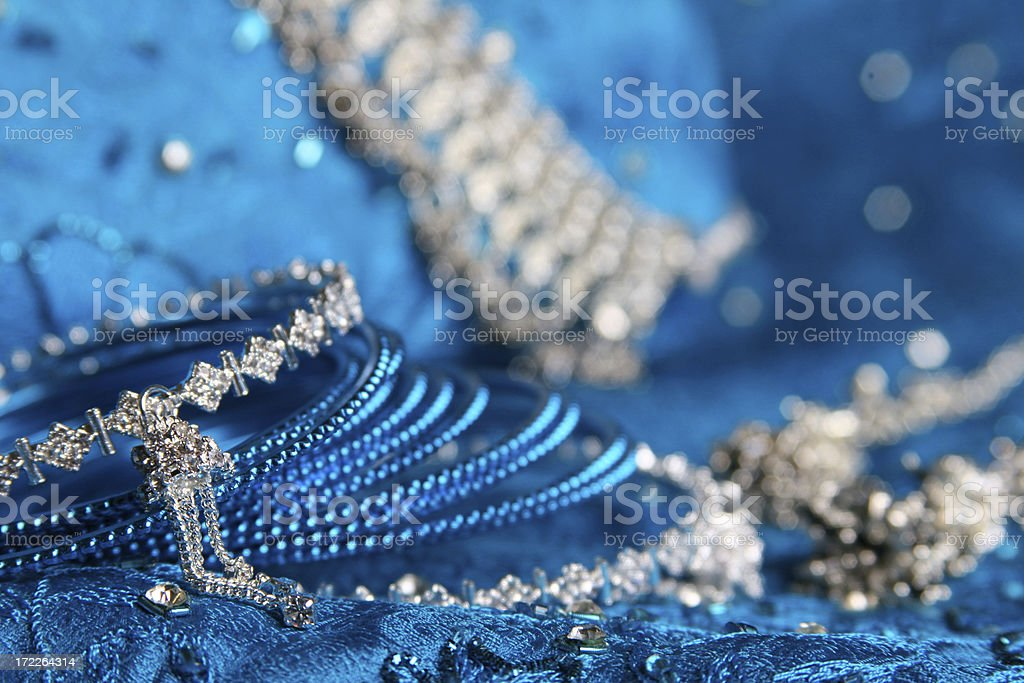 Asian Wedding Jewels royalty-free stock photo
