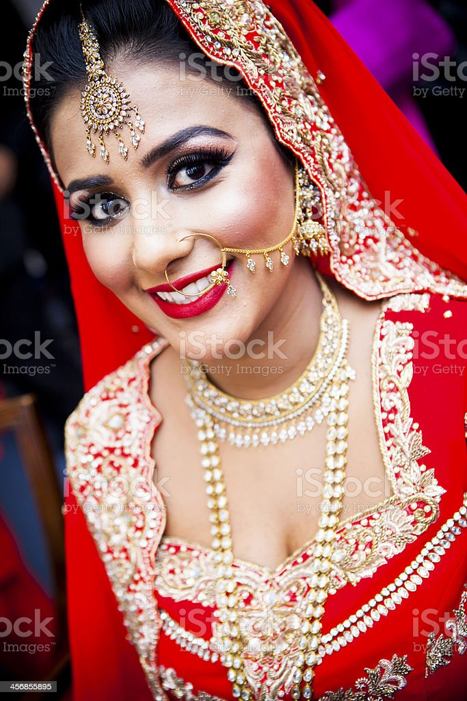 Asian wedding royalty-free stock photo