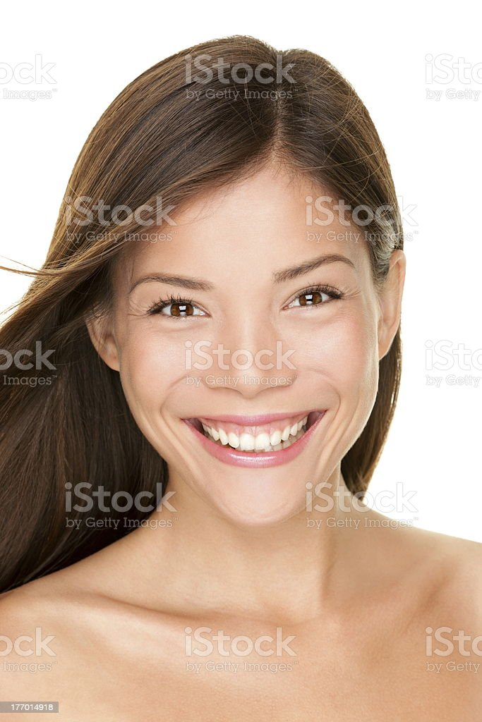 Asian woman beauty portrait royalty-free stock photo