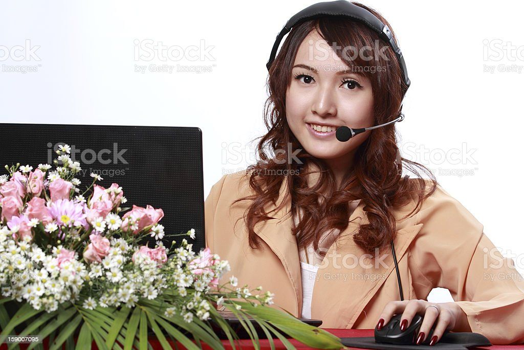 Asian woman office royalty-free stock photo