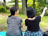 Asian Women, Picnic