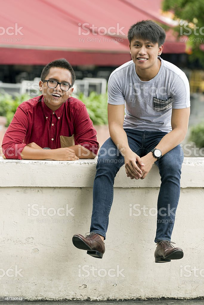Asian Young Man royalty-free stock photo