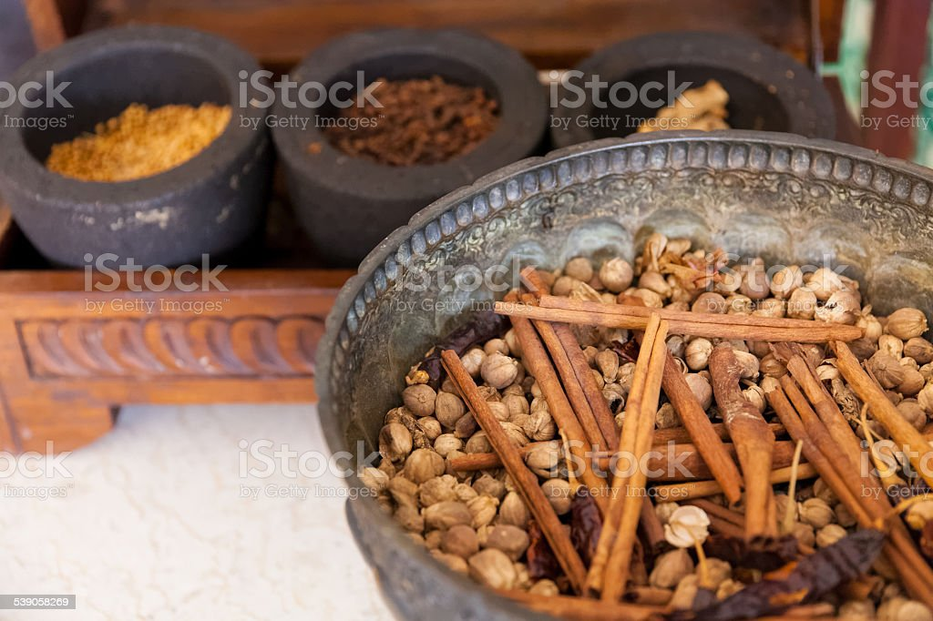 Asia's Traditional Herbs stock photo