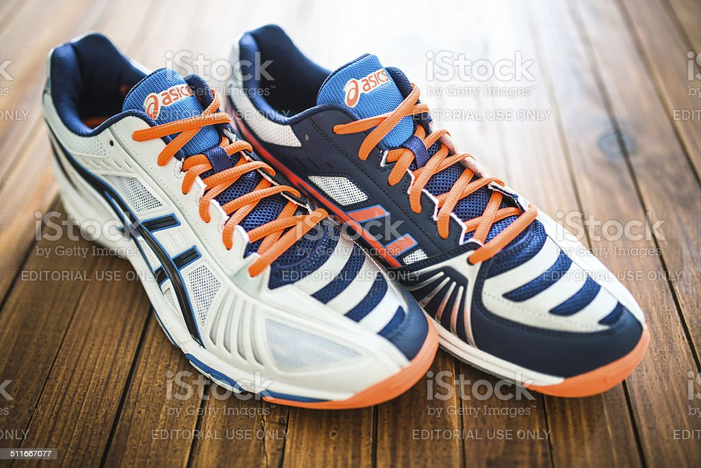 Asics Gel Volley Elite 2 Sport shoes stock photo