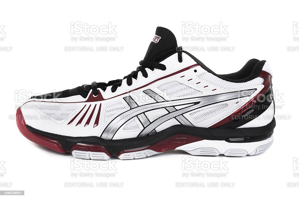 Asics Gel Volley Elite Sport shoes royalty-free stock photo