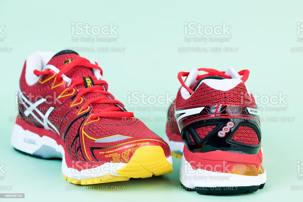 Asics Kayano Gel 20 Male Running Shoes stock photo