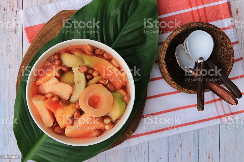 Asinan Bogor stock photo