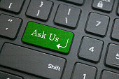 Ask us button on keyboard
