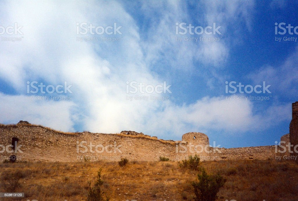 Askeran Fortress, Nagorno-Karabakh, Caucasus stock photo