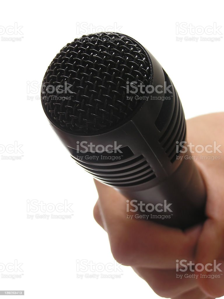 asking for opinion royalty-free stock photo
