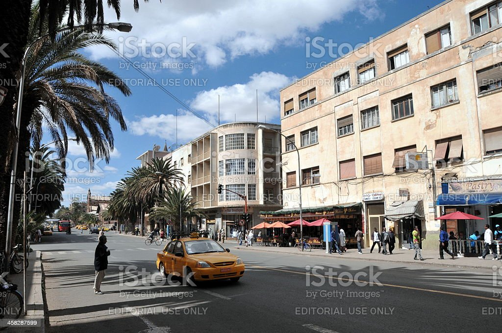 Asmara, Eritrea stock photo