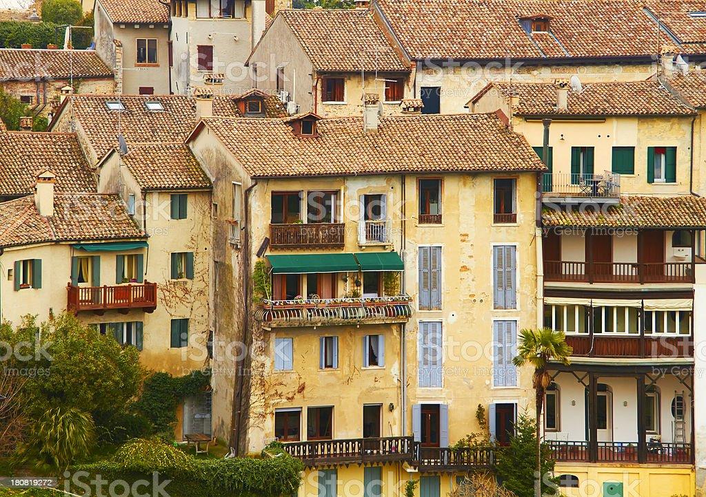 Asolo, Itali. stock photo
