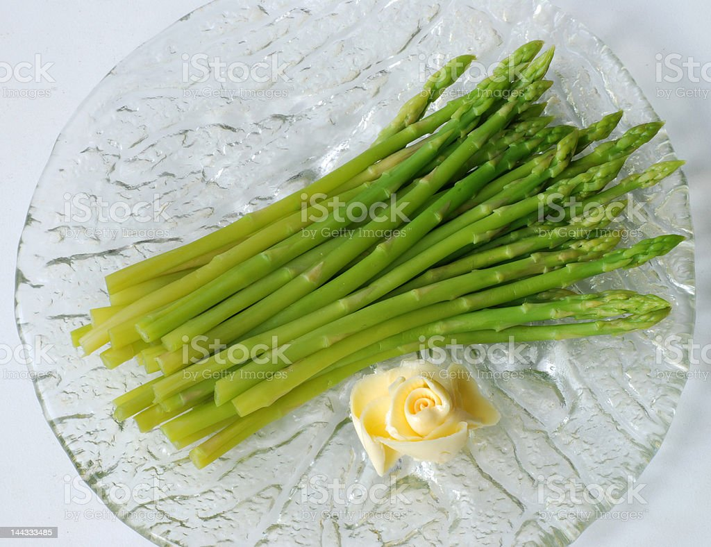 Asparagus 1 royalty-free stock photo