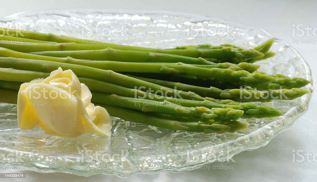 Asparagus 3 royalty-free stock photo