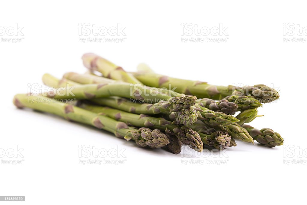 asparagus bunch royalty-free stock photo