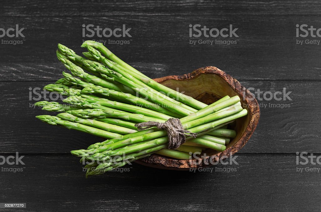 Asparagus green food photo stock photo