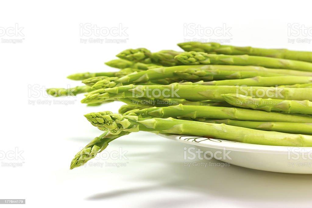 Asparagus royalty-free stock photo
