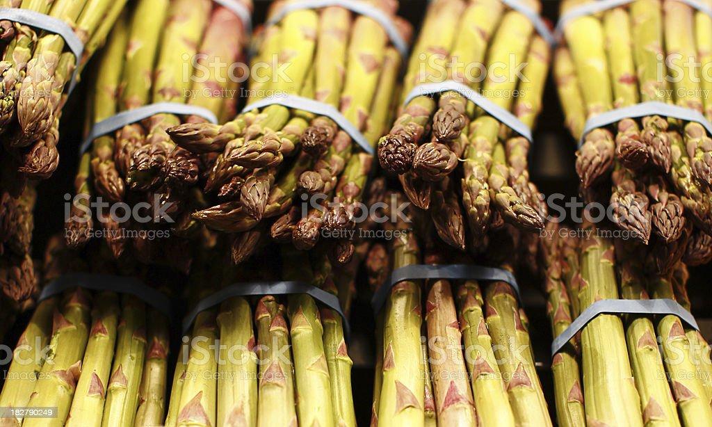 Asparagus Tips royalty-free stock photo