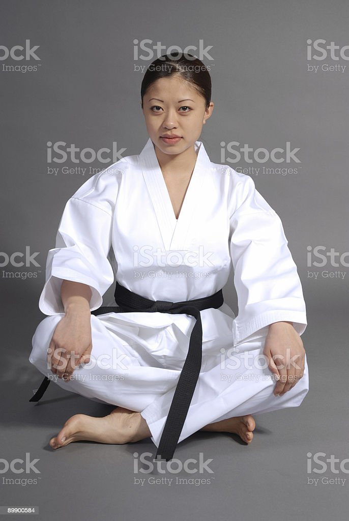 Aspects of the martial arts stock photo
