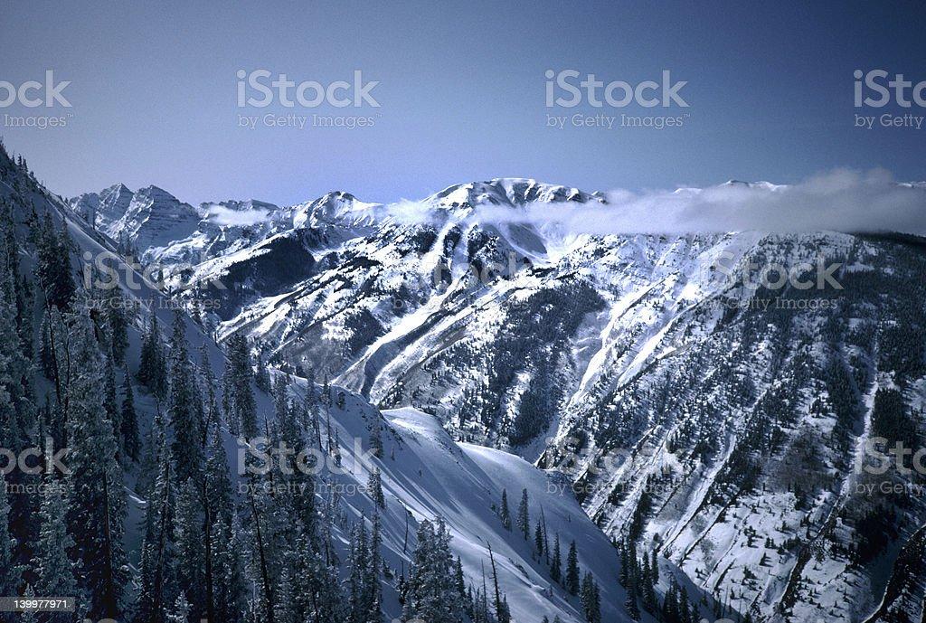 Aspen Highlands stock photo