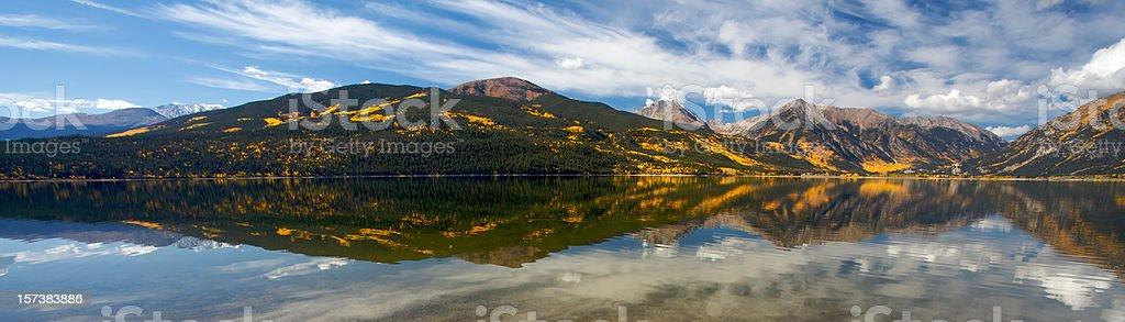 Panorama di Aspen foto stock royalty-free