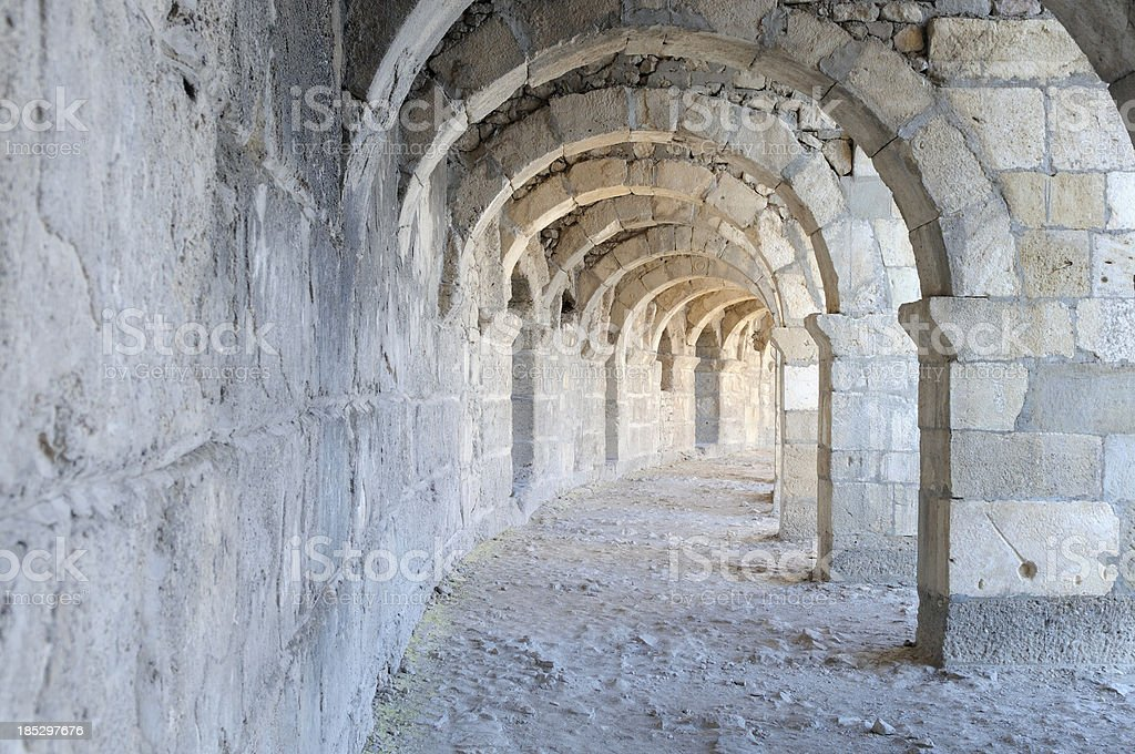 Aspendos royalty-free stock photo